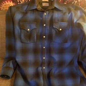 Pendleton High Grade Western Wear Wool Shirt